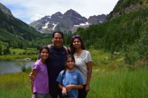 Family Photo Maroon Bells
