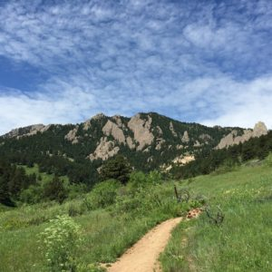 Hiking in South Boulder